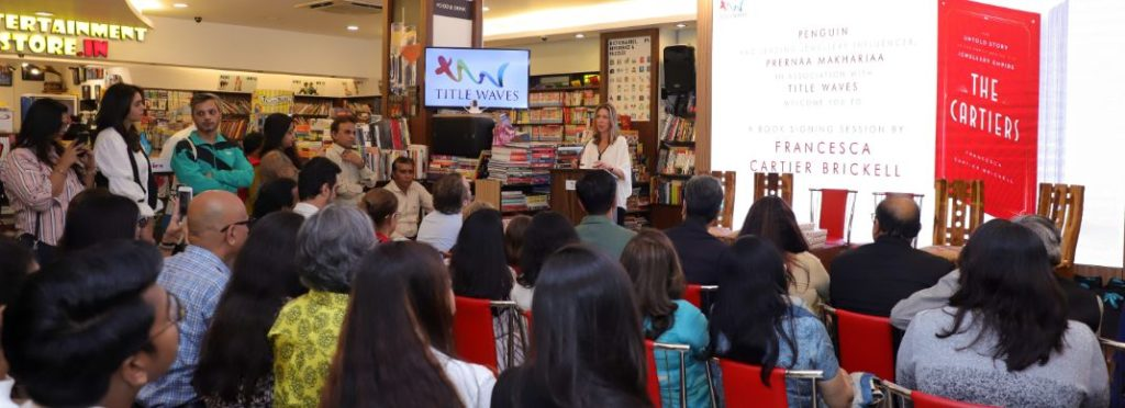 Book signing event - Cartier by Prernaa