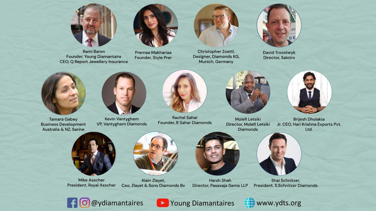 Young Diamantaires At First Virtual 39th World Diamond Congress